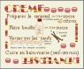 Crème renversée (fm1711a - grille point de croix en pdf)