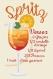 Cocktail : spritz (fm1908a- grille point de croix en pdf)