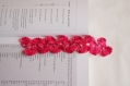 Marque page rose foncé au crochet