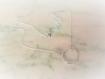 Collier cercle argent 925 tourmaline,argent massif,rond,anneau,discret,chic,925,moderne,pierre fine,silver necklace stone,circle,minimaliste