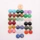 Pendentif argent massif,livraison gratuite,pierre cabochon naturelle,personnalisable,petit,discret,simple,rond,semi précieuse,gemme,initiale