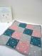 Couverture nouka granny square 4x4 pour bébé
