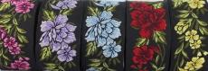 Sur commande!  10 m galon brodé jacquard ***  motif fleurs***  largeur 35 mm