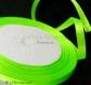 1 rouleau 22m de ruban 6mm satin - vert jaune fluo - décoration # sat30