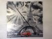 Horloge pendule murale geante en aluminium paris tour eiffel france deudeuche 2cv