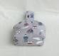 Sac à main / cabas de plage femme - tissu marin/mer aspect lin - panier/panière accessoire de rangement salle de bain -cadeau fête des mères