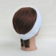 Bandeau, femme, laine blanc irisé,tricoté main, point à torsade, headband, accessoire de cheveux, cadeau, saint valentin, mariage, fête des mères