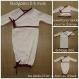 Newborn gown chaud - pyjama super pratique