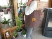 Trc 023 tote-bag coton épais marron