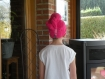 Trc 025 serviette pour cheveux rose