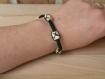Bra 131 bracelet chanvre et bois 4