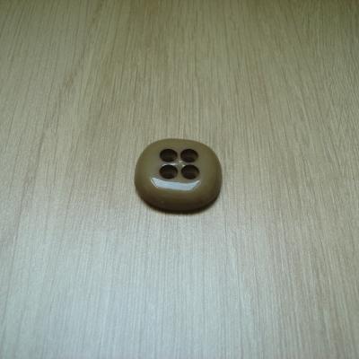 Boutons forme carré beige contour arrondie   1-76