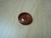 Cinqs boutons forme ronde marron vintage   1-14  +3