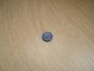 Boutons plastique creux rond bleu moyen   19-37