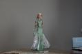 Robe du soir en taffetas pour poupée, barbie model muse, poppy parker de integrity toys mini egerie
