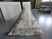 Coussin pour ipad style shabby