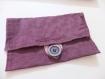 Pochette/étui de couleur violette