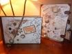 Valise urne de mariage et livre d'or  assortis, décorés selon votre thème de décoration de votre cérémonie  pour votre plus belle journée