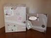 Urne de mariage valise et livre d'or décorés selon votre thème pour votre plus belle journée