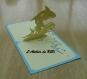 Carte kirigami requin