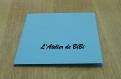 Carte kirigami mon baptême