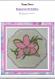 Explication de réalisation du napperon orchidée en tissage danois