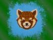 Diagramme du panda roux en miyuki