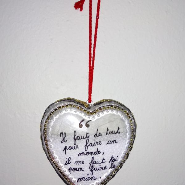 Cœur Plastique Déclaration D Amour Pour Mariage Ou Autre