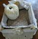 Paniére faite à la main pour pelote de laine