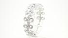 Bracelet en aluminium argent