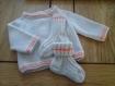 Brassière bébé (naissance) + chaussettes