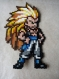 Pixel art - gotenks - dragon ball z
