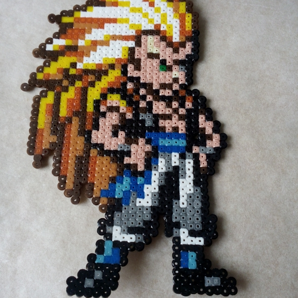 Pixel Art Gotenks Dragon Ball Z Mosaiques Par Pixelart