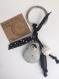 Porte clé ou bijou de sac -poupée russe /fait main