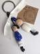 Porte clé ou bijou de sac -puces /fait main
