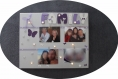 Porte photos illuminé personnalisable sur toile