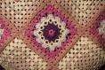 Crocheté main sac vintage