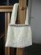 Petit sac bandouliere tricoté main entièrement doublé