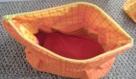 Trousse de toilette ou maquillage multi usages coton enduit