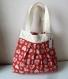Petit sac cabas pour fillette - tissu motifs coeurs