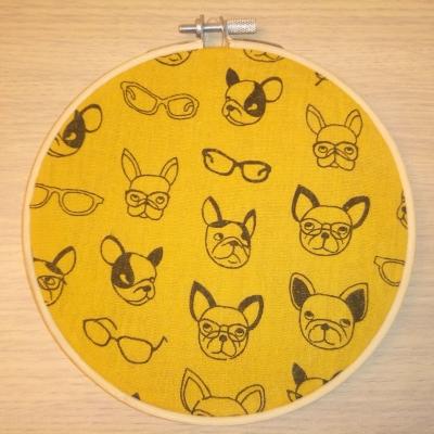 Tableau têtes de chiens