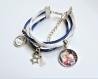 Bracelet suédine liberty personnalisé  • avec photo ou prénom