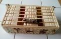 Boîte pour sachets de thé en bois