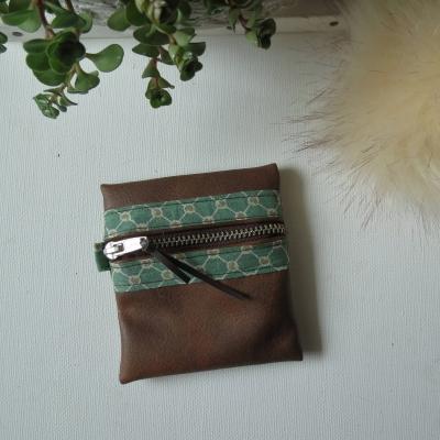 Porte-monnaie  zipée vintage! cadeau pour femme - style bohème, bobo, hippie-chic