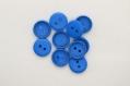 Lot de 10 boutons bleu