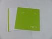 Carte maisonnette pour anniversaire ou autre occasion en relief 3d kirigami couleur vert golf et ivoire