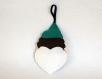 Cadeau tir a l arc pour femmes, robin des bois dans une cible en forme de coeur, en feutrine, à suspendre à un carquois