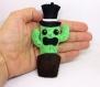 Décorations cactus kawaii, monsieur cactus, en feutrine, fait main, cadeau anniversaire pour lui