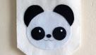 Décoration murale, fanion panda, en feutrine, fait main, pour chambre d'enfant ou bébé