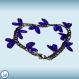 Choisissez les couleurs de votre bracelet ! maille figaro triple